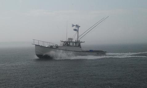Aluminum boat mast
